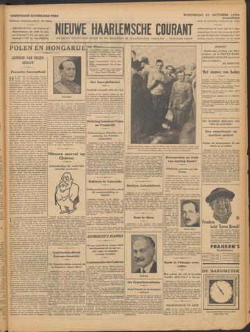 Nieuwe Haarlemsche Courant 1934-10-31