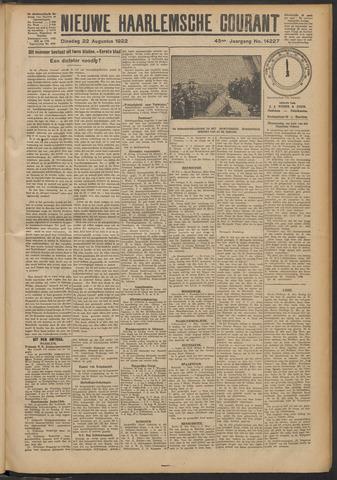 Nieuwe Haarlemsche Courant 1922-08-22