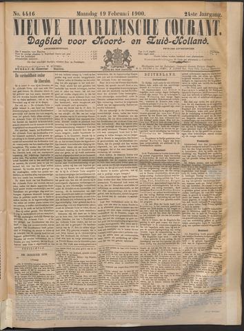 Nieuwe Haarlemsche Courant 1900-02-19