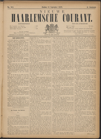 Nieuwe Haarlemsche Courant 1879-09-21