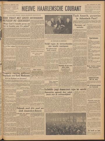 Nieuwe Haarlemsche Courant 1949-02-21