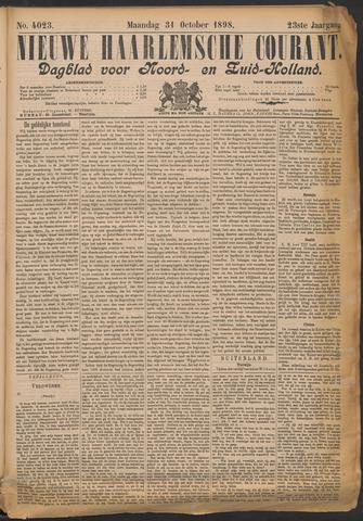 Nieuwe Haarlemsche Courant 1898-10-31