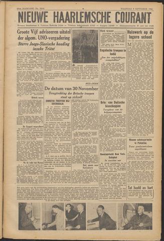 Nieuwe Haarlemsche Courant 1946-09-09