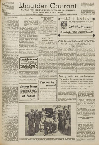 IJmuider Courant 1939-05-25