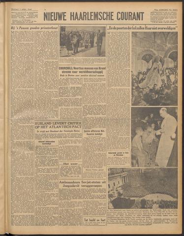 Nieuwe Haarlemsche Courant 1949-04-01