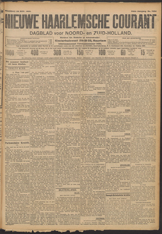Nieuwe Haarlemsche Courant 1909-11-29