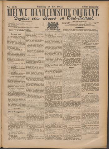 Nieuwe Haarlemsche Courant 1903-05-18