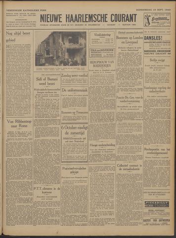 Nieuwe Haarlemsche Courant 1940-09-19