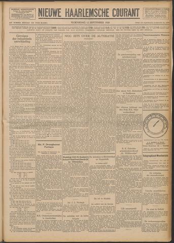 Nieuwe Haarlemsche Courant 1928-09-12
