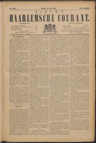 Nieuwe Haarlemsche Courant 1886-07-25