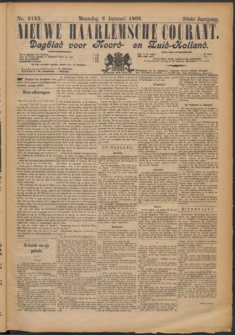 Nieuwe Haarlemsche Courant 1906-01-08
