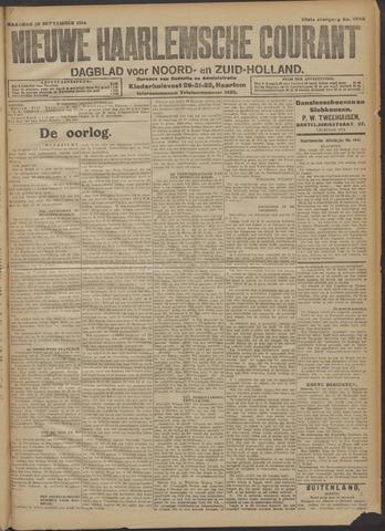 Nieuwe Haarlemsche Courant 1914-09-28