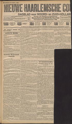 Nieuwe Haarlemsche Courant 1912-09-25