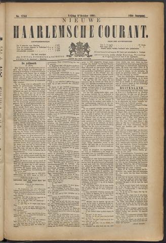 Nieuwe Haarlemsche Courant 1891-10-09