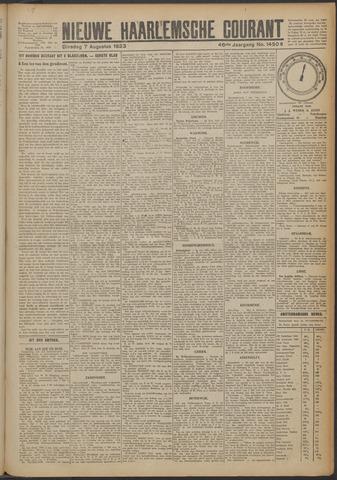 Nieuwe Haarlemsche Courant 1923-08-07