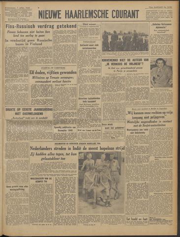 Nieuwe Haarlemsche Courant 1948-04-07