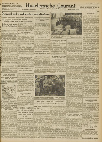 Haarlemsche Courant 1942-10-23