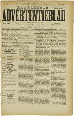 Haarlemsch Advertentieblad 1889-05-29