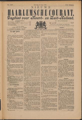 Nieuwe Haarlemsche Courant 1899-06-10