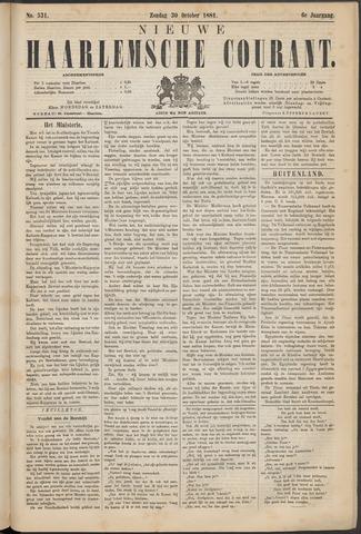 Nieuwe Haarlemsche Courant 1881-10-30