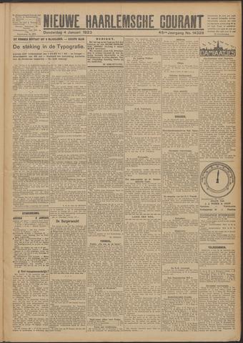 Nieuwe Haarlemsche Courant 1923-01-04