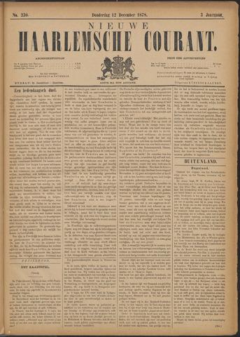 Nieuwe Haarlemsche Courant 1878-12-12