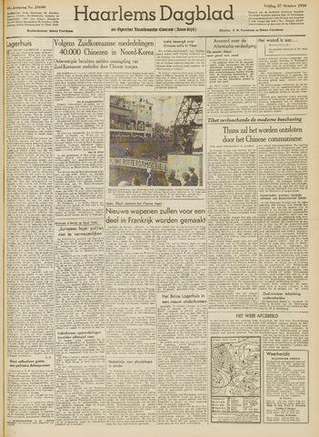 Haarlem's Dagblad 1950-10-27