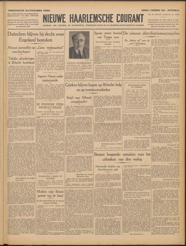 Nieuwe Haarlemsche Courant 1940-11-05