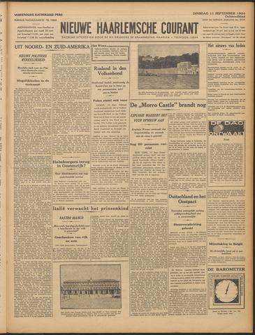 Nieuwe Haarlemsche Courant 1934-09-11