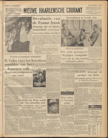Nieuwe Haarlemsche Courant 1958-12-27