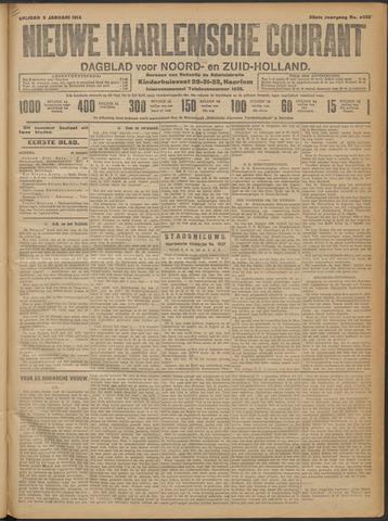 Nieuwe Haarlemsche Courant 1914-01-09
