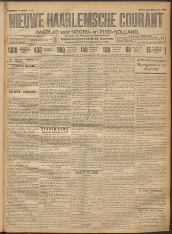 Nieuwe Haarlemsche Courant 1914-04-17