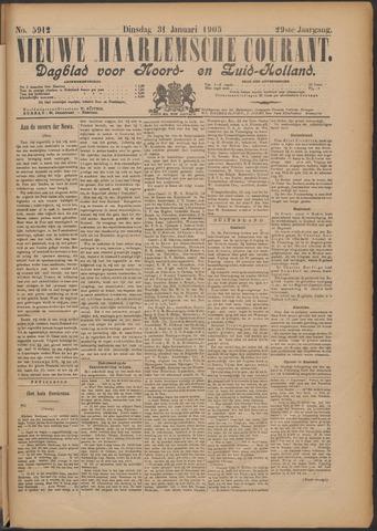Nieuwe Haarlemsche Courant 1905-01-31
