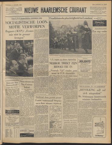 Nieuwe Haarlemsche Courant 1960-10-06