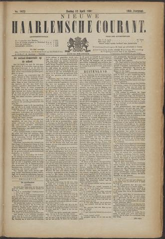 Nieuwe Haarlemsche Courant 1891-04-12