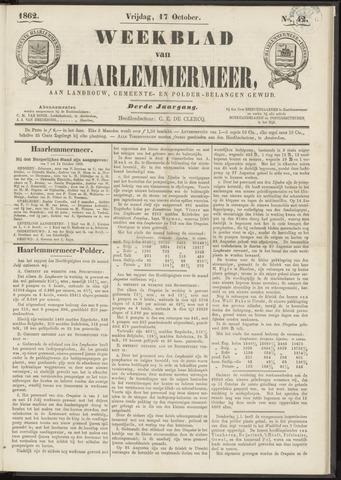Weekblad van Haarlemmermeer 1862-10-17