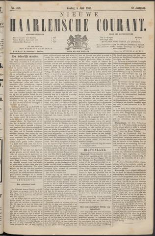 Nieuwe Haarlemsche Courant 1881-06-05