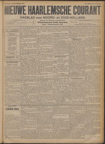 Nieuwe Haarlemsche Courant 1907-09-27