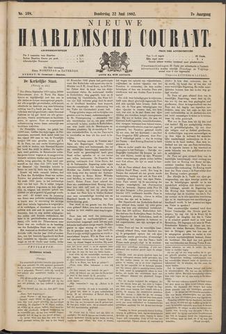 Nieuwe Haarlemsche Courant 1882-06-22