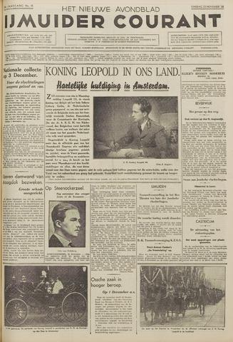 IJmuider Courant 1938-11-22