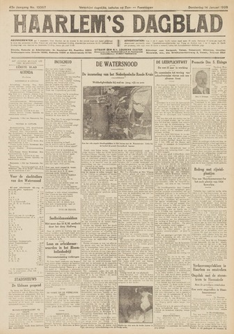 Haarlem's Dagblad 1926-01-14