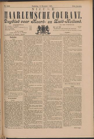 Nieuwe Haarlemsche Courant 1897-11-18