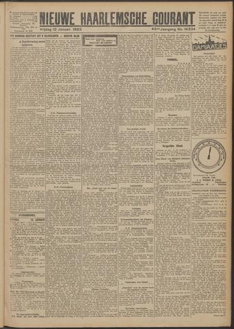 Nieuwe Haarlemsche Courant 1923-01-12