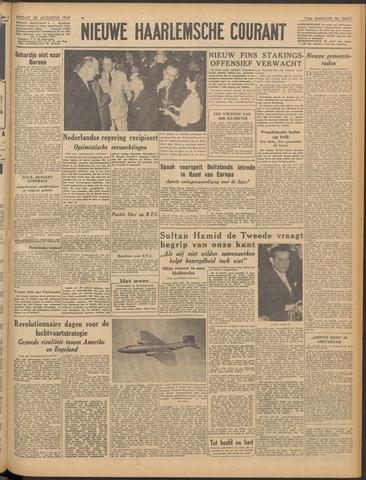 Nieuwe Haarlemsche Courant 1949-08-26
