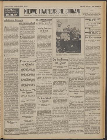 Nieuwe Haarlemsche Courant 1940-09-24