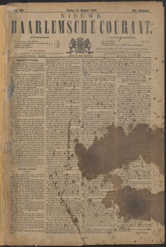 Nieuwe Haarlemsche Courant 1893