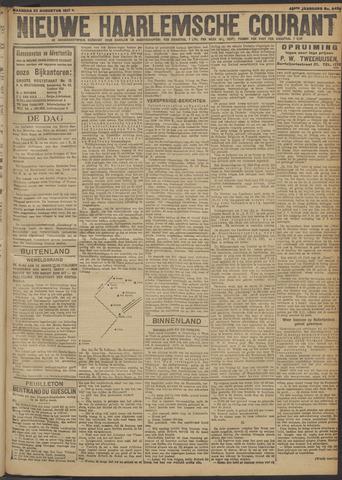 Nieuwe Haarlemsche Courant 1917-08-27