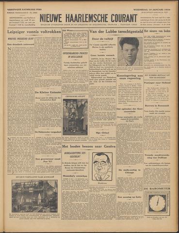 Nieuwe Haarlemsche Courant 1934-01-10