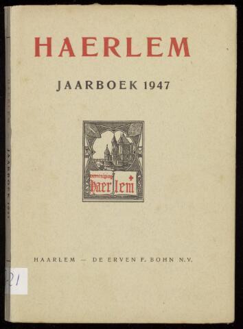 Jaarverslagen en Jaarboeken Vereniging Haerlem 1947