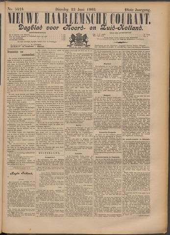 Nieuwe Haarlemsche Courant 1903-06-23